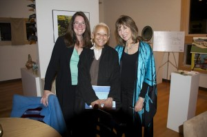 With Poet Nikki Giovanni